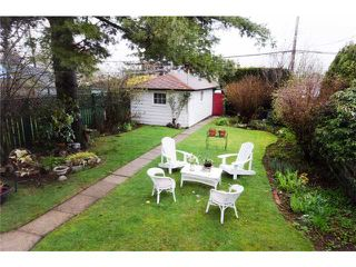 """Photo 9: 2725 TRINITY Street in Vancouver: Hastings East House for sale in """"THE SWEET SPOT NORTH OF MCGILL"""" (Vancouver East)  : MLS®# V880022"""