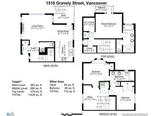 "Photo 20: 1516 GRAVELEY Street in Vancouver: Grandview VE Townhouse for sale in ""GRAVELEY HEIGHTS"" (Vancouver East)  : MLS®# V1106722"