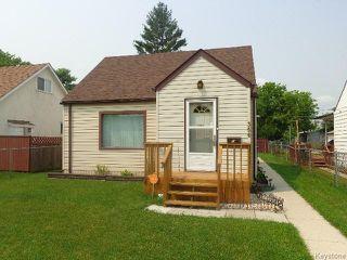 Photo 1: 356 Madison Street in WINNIPEG: St James Residential for sale (West Winnipeg)  : MLS®# 1517865
