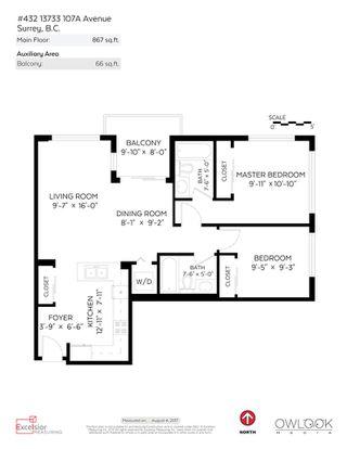"Photo 15: 432 13733 107A Avenue in Surrey: Whalley Condo for sale in ""QUATTRO"" (North Surrey)  : MLS®# R2194957"