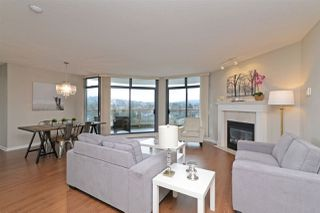 """Photo 1: 1202 4425 HALIFAX Street in Burnaby: Brentwood Park Condo for sale in """"THE POLARIS"""" (Burnaby North)  : MLS®# R2237592"""