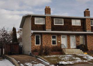 Main Photo: 77 GRAND MEADOW Crescent in Edmonton: Zone 29 House Half Duplex for sale : MLS®# E4136851