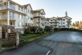 "Main Photo: 212 2491 GLADWIN Road in Abbotsford: Abbotsford West Condo for sale in ""Lakewood Gardens"" : MLS®# R2333870"