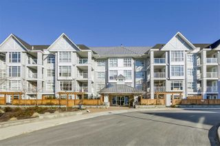 "Photo 1: 313 3148 ST JOHNS Street in Port Moody: Port Moody Centre Condo for sale in ""Sonrisa"" : MLS®# R2344283"