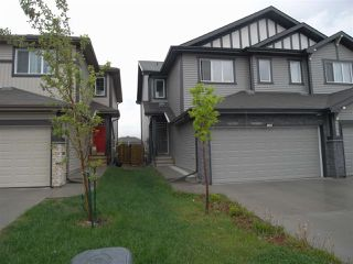 Main Photo: 7269 ARMOUR Crescent in Edmonton: Zone 56 House Half Duplex for sale : MLS®# E4161622