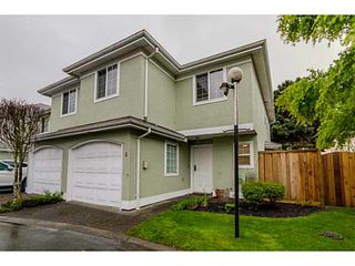 Photo 1: 4 10280 BRYSON Drive in Richmond: West Cambie Townhouse for sale : MLS®# V1118993
