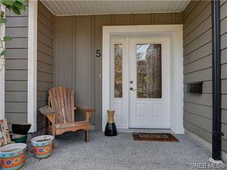 Photo 20: 5 6961 East Saanich Rd in SAANICHTON: CS Tanner Row/Townhouse for sale (Central Saanich)  : MLS®# 713075