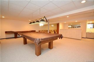 Photo 16: 1073 Scurfield Boulevard in Winnipeg: Whyte Ridge Residential for sale (1P)  : MLS®# 1721730