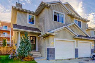 Main Photo: 5 287 MACEWAN Road in Edmonton: Zone 55 House Half Duplex for sale : MLS®# E4133919