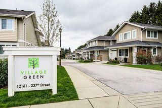 "Photo 17: 4 12161 237 Street in Maple Ridge: East Central Townhouse for sale in ""VILLAGE GREEN"" : MLS®# R2358297"