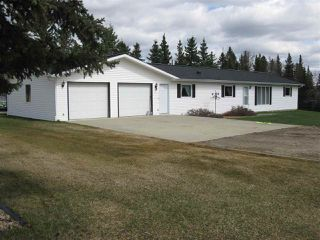 Photo 1: 53024 Rge Rd 70: Rural Parkland County House for sale : MLS®# E4155581