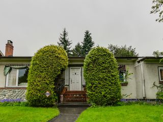Photo 1: 7062 Marguerite Street in Vancouver: South Granville Home for sale ()  : MLS®# V1119446