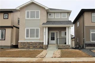 Photo 1: 317 Appleford Gate in Winnipeg: Bridgwater Lakes Residential for sale (1R)  : MLS®# 1918462