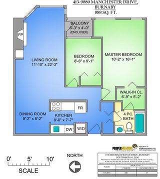 """Photo 13: 413 9880 MANCHESTER Drive in Burnaby: Cariboo Condo for sale in """"BROOKSIDE COURT"""" (Burnaby North)  : MLS®# R2518735"""