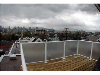 "Photo 10: 2261 HEATHER Street in Vancouver: Fairview VW Townhouse for sale in ""THE FOUNTAINS"" (Vancouver West)  : MLS®# V888051"