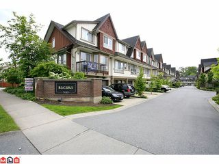 "Photo 1: 19 7155 189TH Street in Surrey: Clayton Townhouse for sale in ""Bacara"" (Cloverdale)  : MLS®# F1114971"