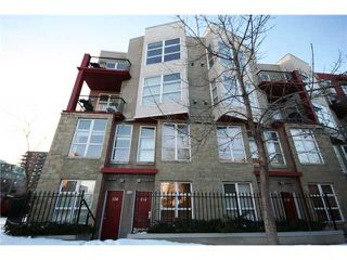 Photo 2: 134 315 24 Avenue SW in CALGARY: Mission Townhouse for sale (Calgary)  : MLS®# C3501944