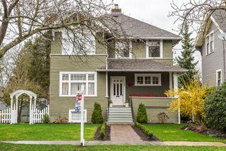 Photo 1: 109 ST. PATRICK Street in New Westminster: Queens Park House for sale : MLS®# R2040725