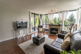 "Photo 1: 203 288 UNGLESS Way in Port Moody: North Shore Pt Moody Condo for sale in ""CRESCENDO"" : MLS®# R2185282"