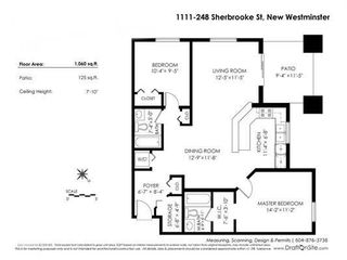 """Photo 20: 1111 248 SHERBROOKE Street in New Westminster: Sapperton Condo for sale in """"Copperstone"""" : MLS®# R2262147"""