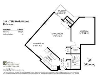 """Photo 14: 214 7295 MOFFATT Road in Richmond: Brighouse South Condo for sale in """"DORCHESTER CIRCLE"""" : MLS®# R2279099"""
