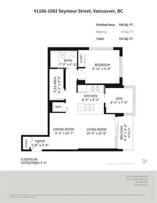"""Photo 19: 1106 1082 SEYMOUR Street in Vancouver: Downtown VW Condo for sale in """"FREESIA"""" (Vancouver West)  : MLS®# R2297152"""