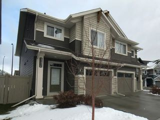 Main Photo: 5397 Crabapple Loop in Edmonton: Zone 53 House Half Duplex for sale : MLS®# E4135976