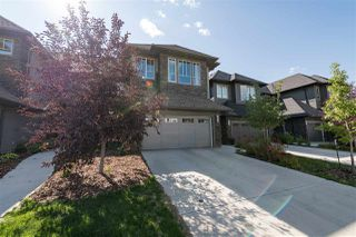 Main Photo: 3218 ALLAN Way in Edmonton: Zone 56 Attached Home for sale : MLS®# E4153584