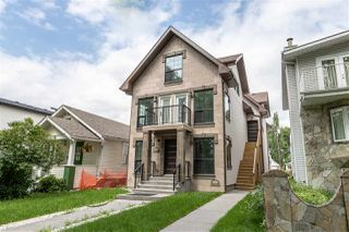Main Photo: 9528 109A Avenue in Edmonton: Zone 13 House Half Duplex for sale : MLS®# E4169286