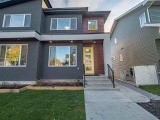Photo 1: 8831 92 Street in Edmonton: Zone 18 House Half Duplex for sale : MLS®# E4177601