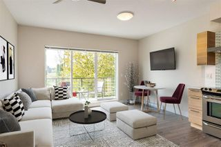 """Photo 2: 203 5811 177B Street in Surrey: Cloverdale BC Condo for sale in """"Latis"""" (Cloverdale)  : MLS®# R2468875"""