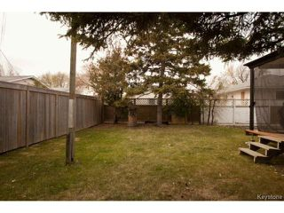 Photo 16: 622 Ian Place in WINNIPEG: North Kildonan Residential for sale (North East Winnipeg)  : MLS®# 1323801