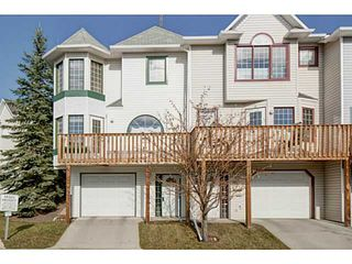 Main Photo: 90 PATINA Rise SW in Calgary: Prominence_Patterson Townhouse for sale : MLS®# C3638062