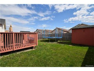 Photo 21: 16 Paul Martin Drive in Winnipeg: Mission Gardens Residential for sale (3K)  : MLS®# 1713470
