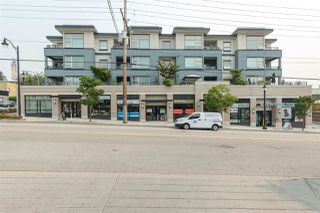"Photo 1: 106 709 TWELFTH Street in New Westminster: Moody Park Condo for sale in ""SHIFT"" : MLS®# R2195187"