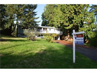 Photo 1: 2893 WEMBLEY Place in North Vancouver: Home for sale : MLS®# V1087418