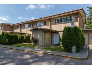 "Photo 1: 12 2048 MCCALLUM Road in Abbotsford: Central Abbotsford Townhouse for sale in ""Garden Court Estates"" : MLS®# R2292137"