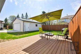 Photo 19: 107 Brentlawn Boulevard in Winnipeg: Richmond West Residential for sale (1S)  : MLS®# 1823314