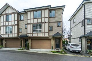 "Main Photo: 15 7848 209 Street in Langley: Willoughby Heights Townhouse for sale in ""MASON & GREEN"" : MLS®# R2327691"
