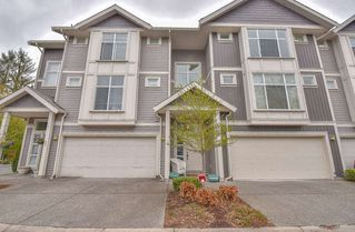 """Photo 1: 12 9270 BROADWAY Street in Chilliwack: Chilliwack E Young-Yale Townhouse for sale in """"THE KENSIGNTON"""" : MLS®# R2357853"""