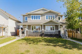 Photo 2: 7410 81 Avenue in Edmonton: Zone 17 House Half Duplex for sale : MLS®# E4158141