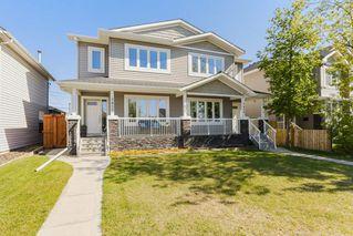 Photo 1: 7410 81 Avenue in Edmonton: Zone 17 House Half Duplex for sale : MLS®# E4158141