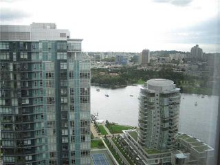 """Photo 6: 3201 455 BEACH Crescent in Vancouver: Yaletown Condo for sale in """"Park West One"""" (Vancouver West)  : MLS®# V914274"""