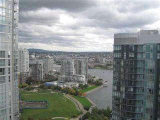 """Photo 2: 3201 455 BEACH Crescent in Vancouver: Yaletown Condo for sale in """"Park West One"""" (Vancouver West)  : MLS®# V914274"""