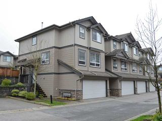 "Photo 1: 25 3127 SKEENA Street in Port Coquitlam: Riverwood Townhouse for sale in ""RIVER'S WALK"" : MLS®# V1042691"