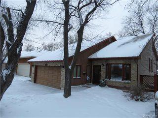 Photo 1: 962 Lemay Avenue in WINNIPEG: Fort Garry / Whyte Ridge / St Norbert Residential for sale (South Winnipeg)  : MLS®# 1500982