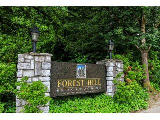 "Photo 16: 17 65 FOXWOOD Drive in Port Moody: Heritage Mountain Townhouse for sale in ""FOREST HILL"" : MLS®# V1125839"