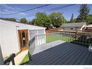 Photo 17: 131 Stranmillis Avenue in WINNIPEG: St Vital Residential for sale (South East Winnipeg)  : MLS®# 1524126