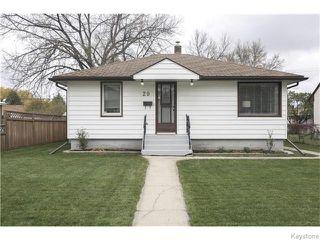 Photo 1: 29 Humboldt Avenue in WINNIPEG: St Vital Residential for sale (South East Winnipeg)  : MLS®# 1527574