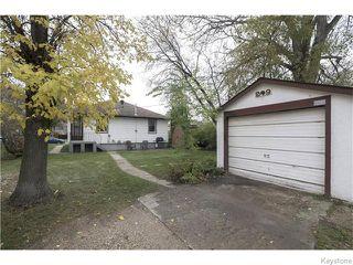 Photo 20: 29 Humboldt Avenue in WINNIPEG: St Vital Residential for sale (South East Winnipeg)  : MLS®# 1527574